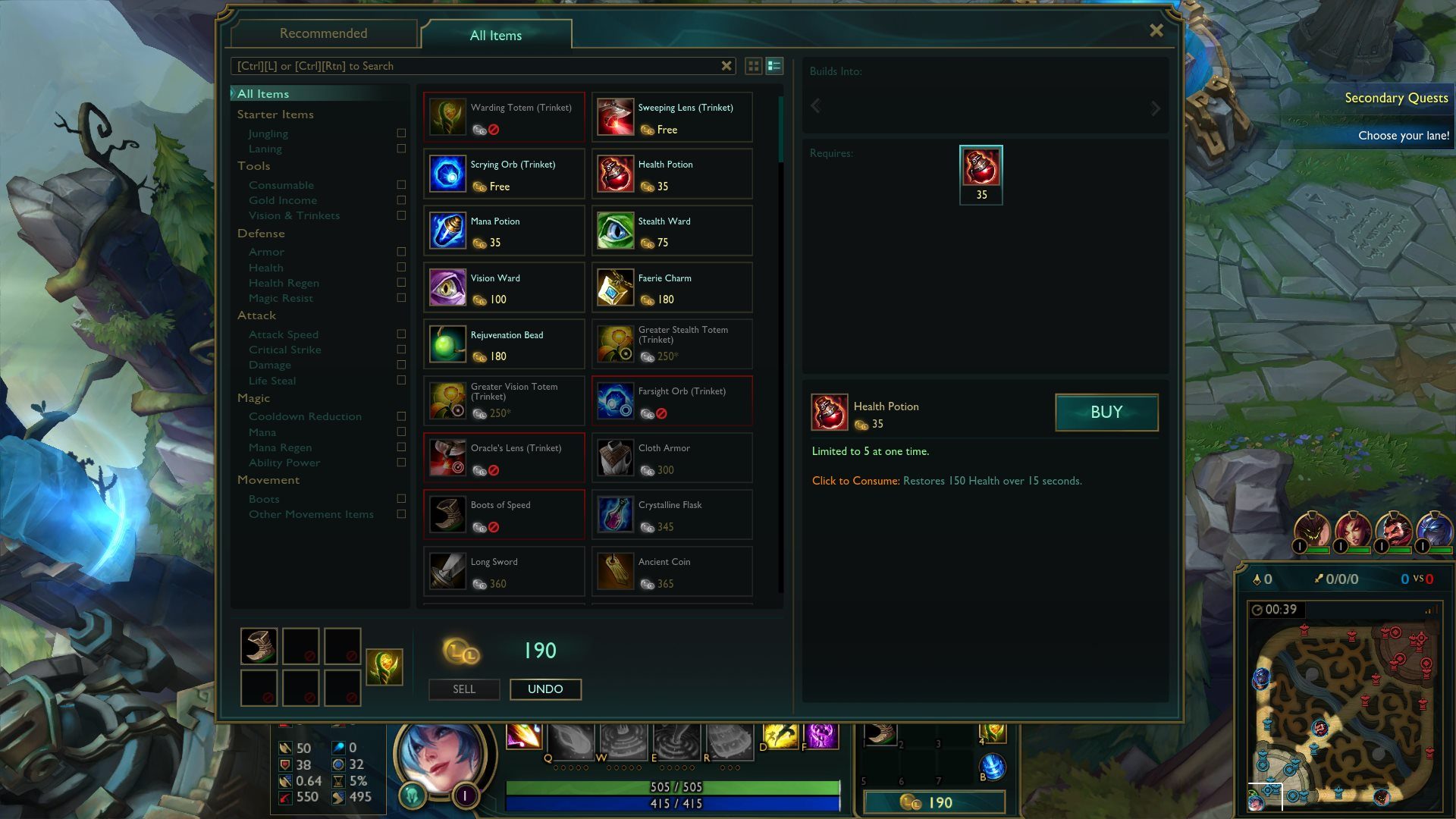 how to change ur league of legends hud