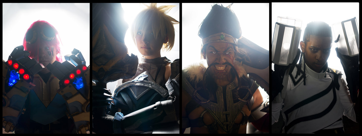 league of legends group at otakon by shinigami x-d6hqdjx