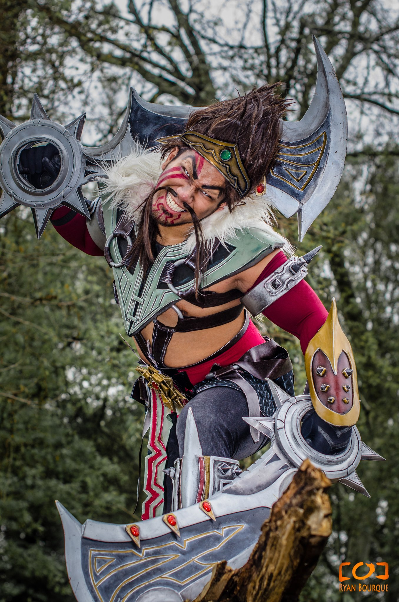 Draven cosplay 1