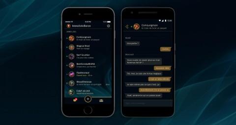 Téléchargez gratuitement l'appli mobile League Friends !