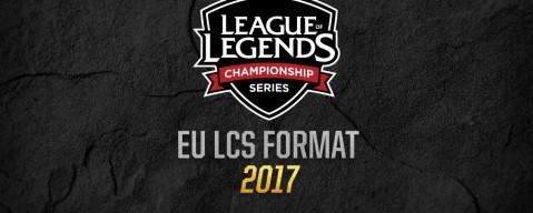 Changement de format pour les LCS EU 2017