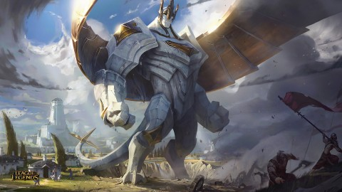 Mise à jour de champion : Galio, colosse
