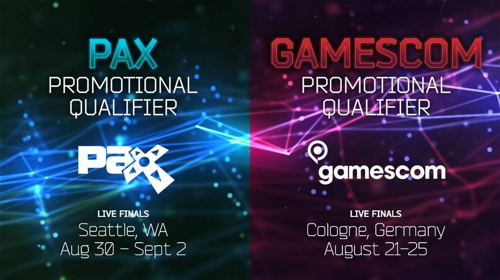 Qualifs Gamescom & PAX