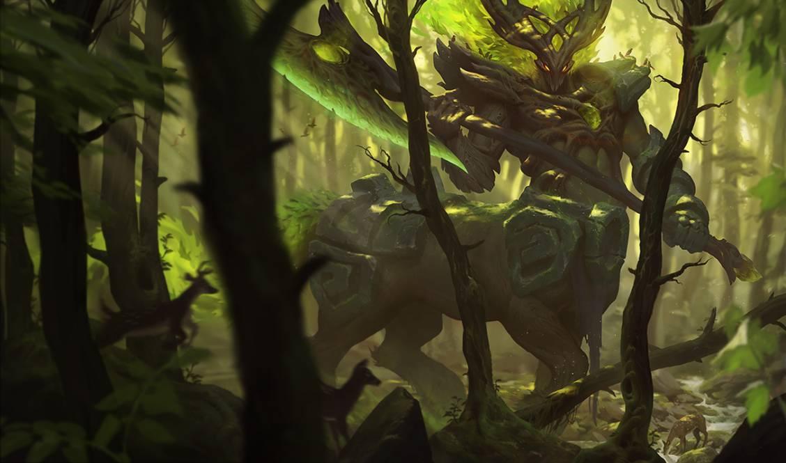 Protégez l'âme de la forêt avec Hecarim sylvestre