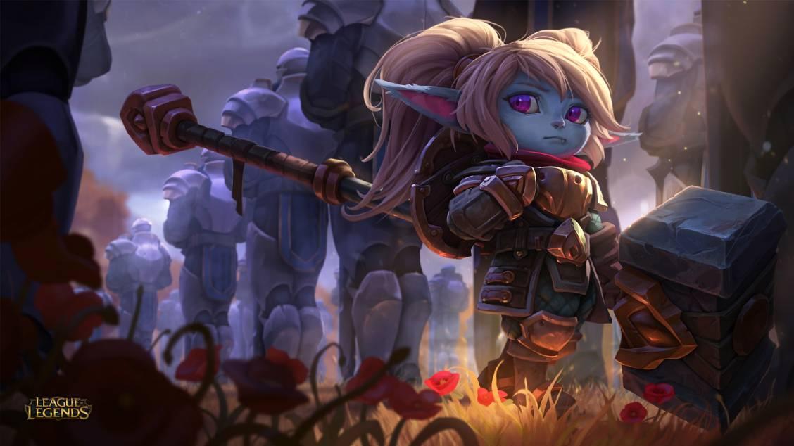 Mise à jour de champion : Poppy, gardienne du marteau