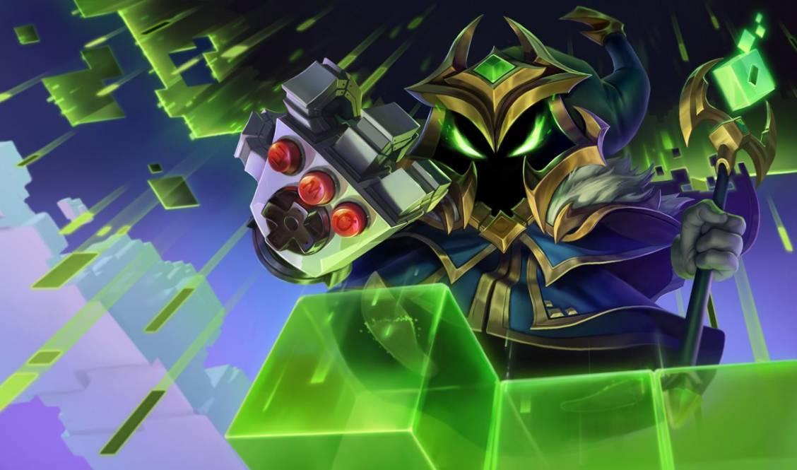 Veigar boss de fin s'attaque à League of Legends