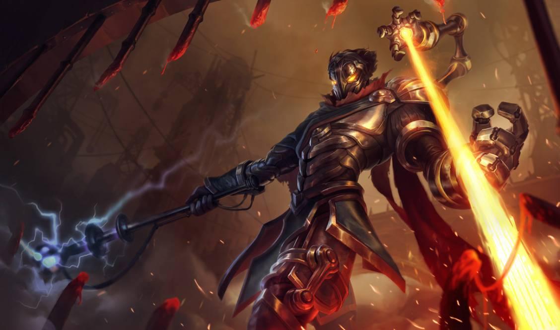 MAJ de champion : Viktor - Héraut des machines