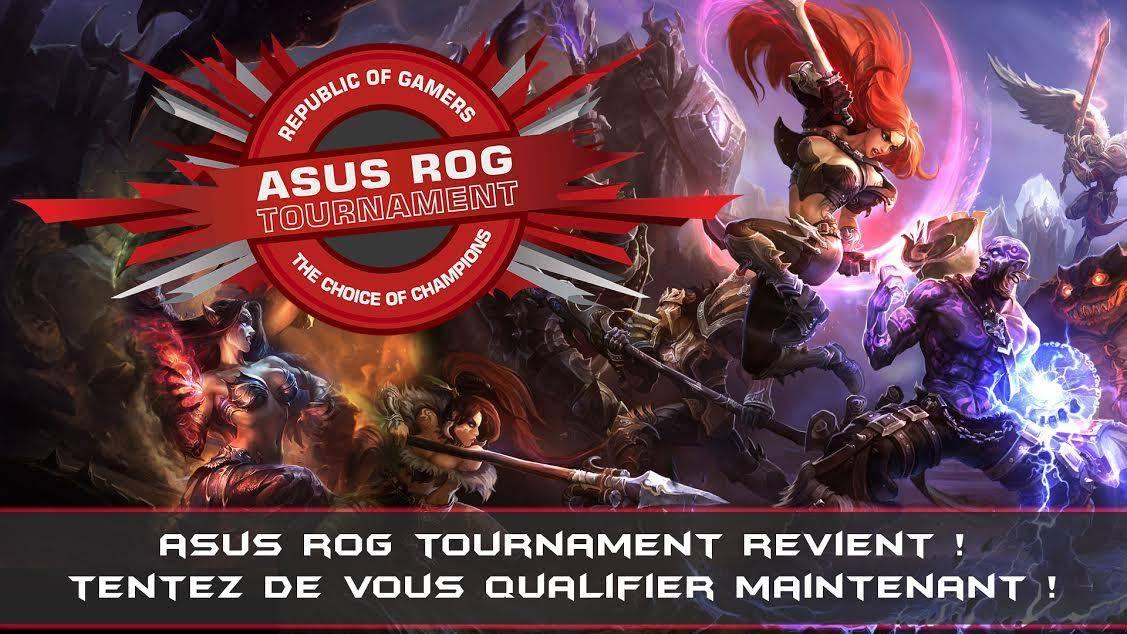 ASUS ROG Tournament à la PGW 2014