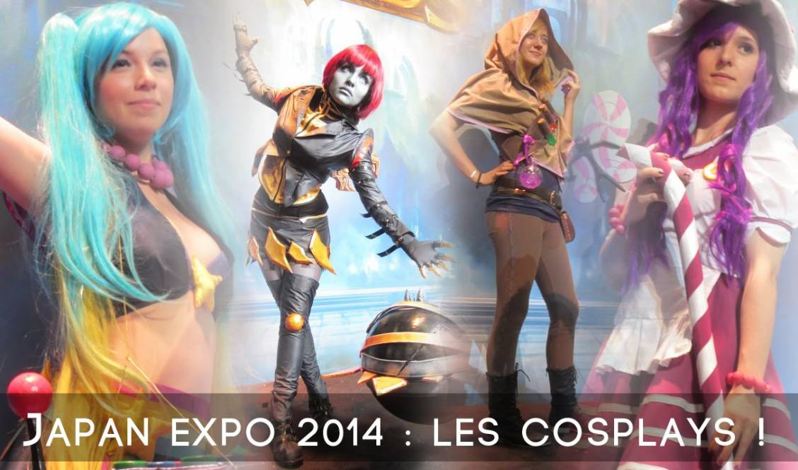 Japan Expo 2014 : Les cosplays