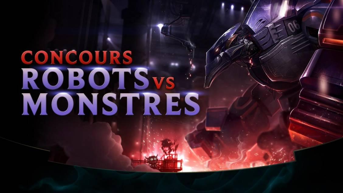 Concours affiche de cinéma Robots vs. Monstres !