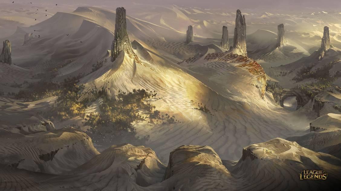 Shurima : que cachent les dunes de sable ?