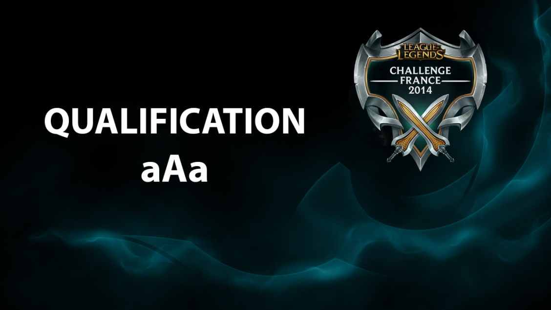 Qualification aAa – Challenge France 2014